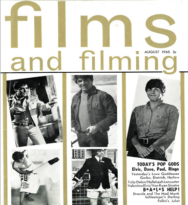 Film and Filming Magazine 1965-1969 PDF Format on DVD Disc 007, Beatles, Europe