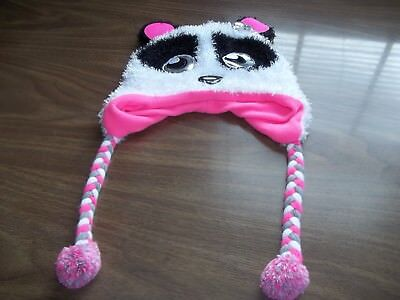 One Size Panda Winter Hat from Justice