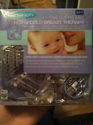 New In Box Lansinoh Therapearl Hot Or Cold Breast Therapy Breastfeeding Nursing