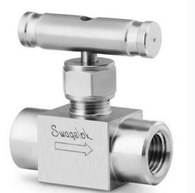 SWAGELOK Stainless Valve Part# SS-20VF4 (NEW IN FACTORY BAG ) 6000 PSI 100 F