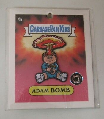 Garbage Pail Kids Adam Bomb Exclusive Enamel Pin Creepy Co. Topps