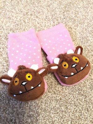 Gruffalo Child Socks Pink Worn Once Rattle