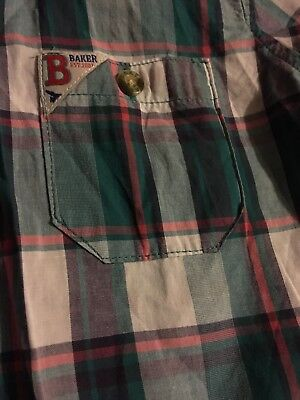 Boys Ted Baker shirt age  4-5 worn once