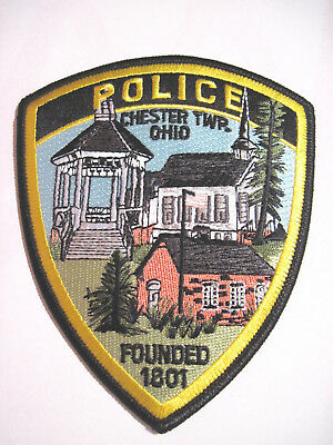 Chester Twp. Ohio Police Shoulder Patch