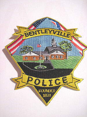 Bentleyville Ohio Old Style Police Shoulder Patch