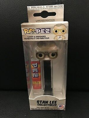 Funko Pop! Pez Stan Lee Collectibles Limited Edition In Hand Sold Out!