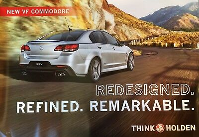 Holden Commodore VF  SSV V8 Showroom Poster See also brochure listed