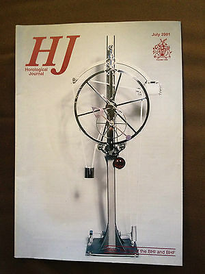 July 2001 Horological Journal Magazine - Designing Your Own Clock