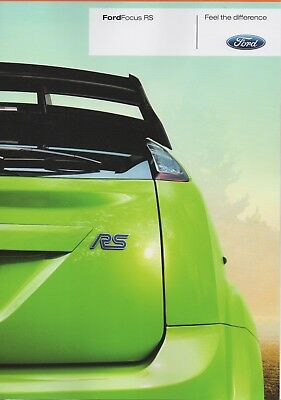 Ford Focus RS Brochure