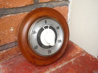 Old Smiths Wood And Glass Timer