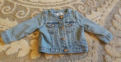 Old Navy Baby Girl Jean Jacket 12-18 months
