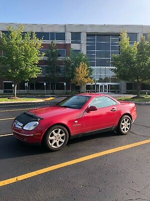 1998 Mercedes-Benz SLK-Class  1998 Mercedes Benz SLK 230 Kompressor