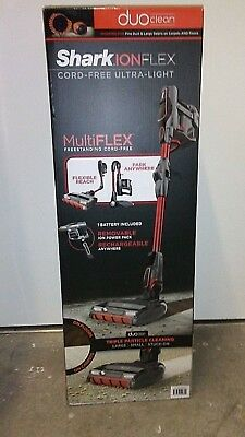 Shark IONFlex DuoClean MultiFLEX Cordless Ultra-Light Vacuum IC205 NEW (RED)