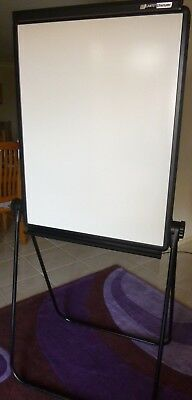 WHITEBOARD - Free Standing - Portable - Double Sided - Excellent Condition