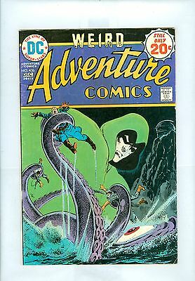 Adventure Comics #436 FN Aparo, Grell, Spectre, Aquaman, Black Manta
