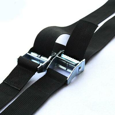 Cam Tie Down Strap CARGO Luggage Nylon Belt Metal Buckle  Nylon