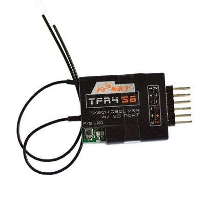 FrSky TFR4SB 3/16Ch SBUS Receiver 2.4GHz Compatible CPPM Futaba FASST S.Bus