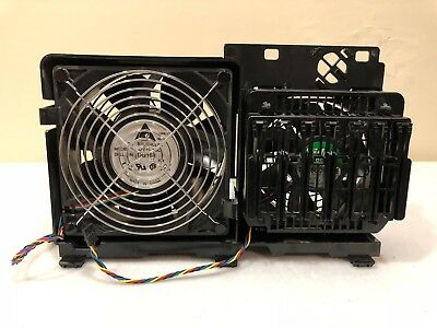 Dell Workstation Precision T7500 T7400 690 Dual Cooling Fan Assembly WN845 MM089