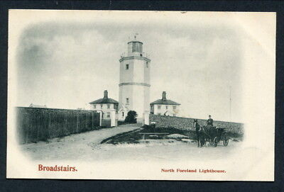 C1903 Postcard -- Broadstairs -- North Foreland Lighthouse