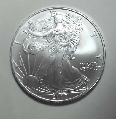 1 Dollar USA 2007 1 oz Silber