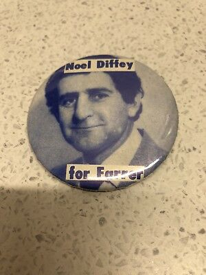 "Rare ""Noel Diffey For Farrer"" Badge From 1983 ACT Labor Party!"