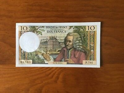 Bank note French 10 francs...Dated1972