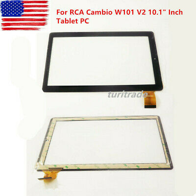 """New Digitizer Touch Screen Panel For RCA Cambio W101 V2 10.1"""" Inch Tablet PC US"""