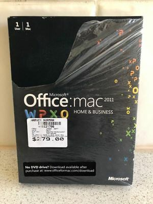 Office Home & Business for Mac 2011