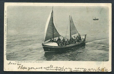 1904 Used Undivided Back Pc -- The Margate Lifeboat