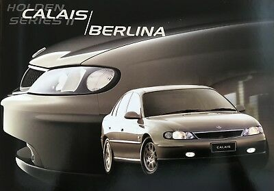 Holden VX Series II Calais and Commodore Berlina Sales Brochure