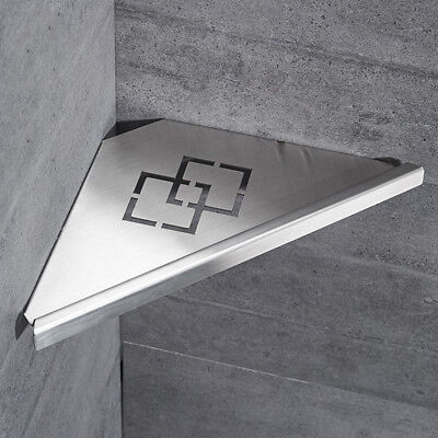 Accessories Bathroom Shelves durable Stainless Steel Shower home Brushed Nickel