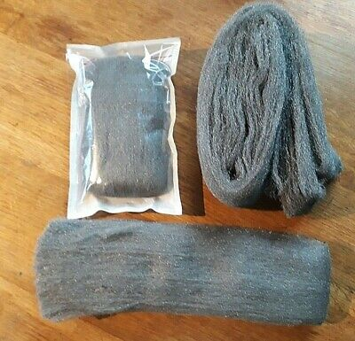 Liberon Steel Wire Wool NEW Top Quality  VARIOUS Grades + lengths available