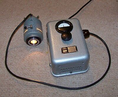 Carl Zeiss Microscope Power Supply and lamp house with 12v 60 Watt Lamp