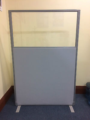 PerthPickupOnly! RRP$1030 QUALITY FREESTANDING OFFICE SCREEN PARTITION DIVIDER