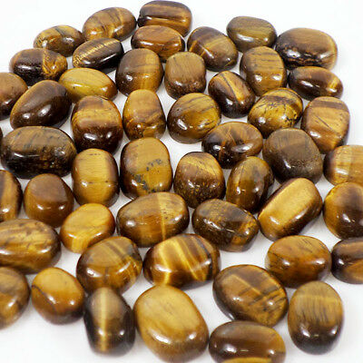 420 Cts/52 Pcs Natural Tiger Eye Untreated Oval Cabochon Gems Lot ~ 12mm-16mm