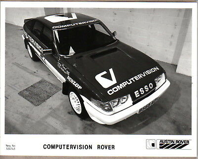 Rover 200 Computervision original b/w Press Photograph Pub. No. 324143