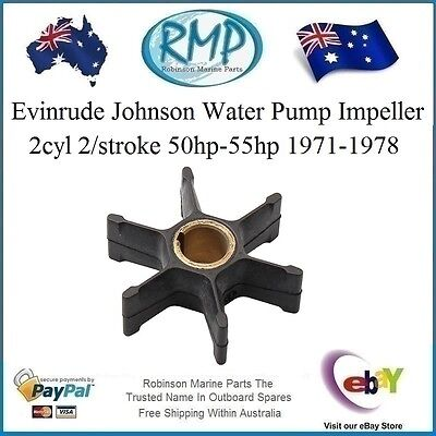 A Brand New Evinrude Johnson Water Pump Impeller 50hp-55hp 1971-1978 # R 377230