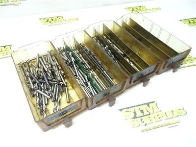 Large Lot Of Left Hand Hss Number Drills #13 To #24