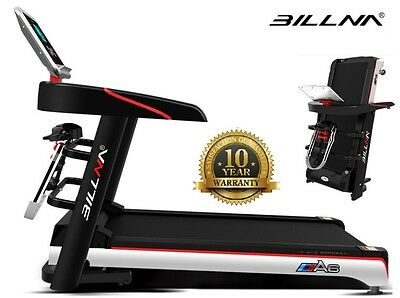 Billna A6 Foldable Treadmill Slim Line Multi Function Motorised Running Machine