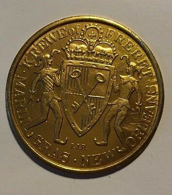 Vintage Mardi Gras Doubloon (Krewe of Freret 68)#47