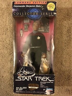 Playmates Toys Star Trek Benjamin Sisko Collectors Series Action Figure NIB