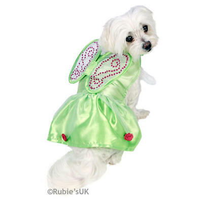 Pet Dog Puppy Tinker Bell Costume Fancy Dress Costume Outfit Rubies Disney XS