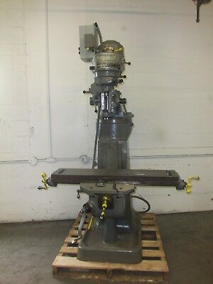 "Bridgeport Series I Miling Machine W/chrome Ways And 42"" Table"