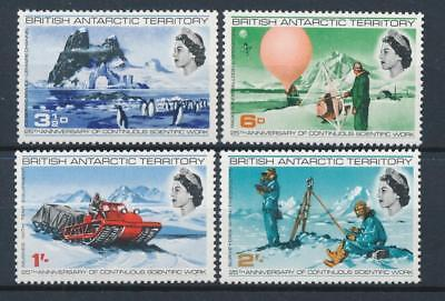 [77335] British Antarctic Territory good set Very Fine MNH stamps