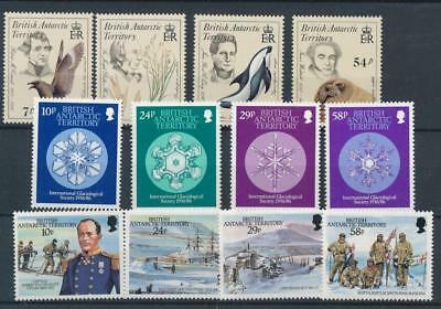 [77343] British Antarctic Territory good lot Very Fine MNH stamps