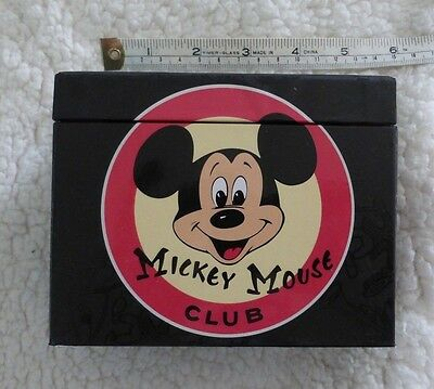 Mickey Mouse Club, 20 Note Cards, Sticker Set in Box