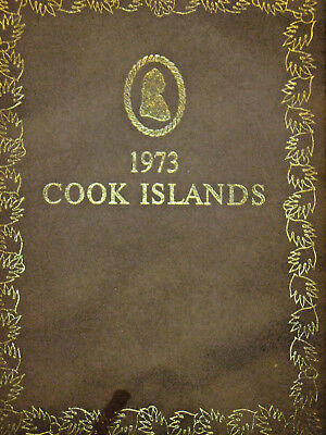 1973 Cook Islands 9 Coin Proof Set -Free Shipping