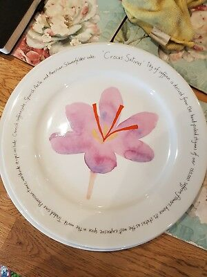 Richard Bramble Design Jersey Pottery crocus sativus