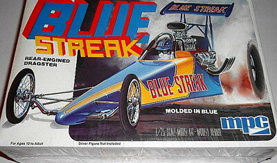 Mpc Blue Streak Rear-Engined Dragster 1:25