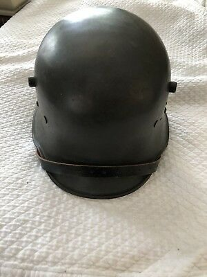 Original German/Austrian WW1 M17 Helmet(reproduction Liner/chin Strap)Size 59